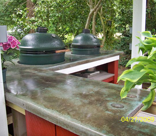Outstanding Outdoor Kitchen Concrete Counters 541 x 473 · 102 kB · jpeg